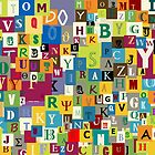 Alphabet by Richard Laschon
