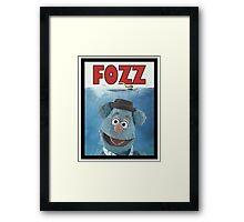 Fozz by Steven Spielberg Framed Print