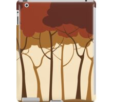 Sepia forest iPad Case/Skin