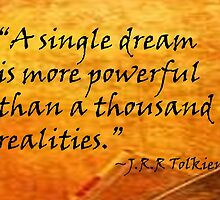 A Single Dream by HopeWontFade