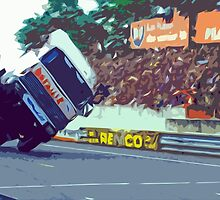 """Unique and rare 1980 Race Trucks France 9 (c) (t) """" fawn paint Picasso ! Olao-Olavia by Okaio Créations by okaio caillaud olivier"""