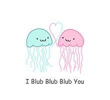 I Blub Blub Blub You Photographic Print
