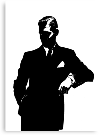 Clark Gable Is A Classy Silhouette by Museenglish
