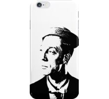 The Buster Keaton Profile iPhone Case/Skin