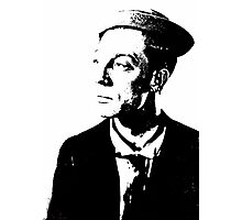 The Buster Keaton Profile Photographic Print
