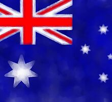Australian Flag by Brinjen
