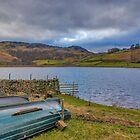 Watendlath Tarn Lake District by Trevor Kersley