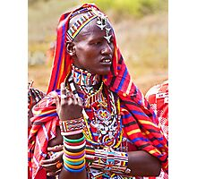 Maasai to the Max Photographic Print