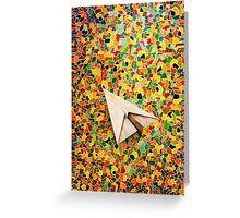 Paper Airplane 73 Greeting Card