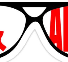 Sunglasses & Advil Sticker