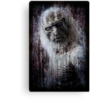 White Walker Canvas Print