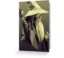 Gandalf Greeting Card