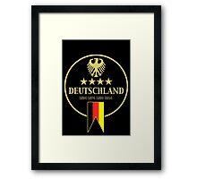 Deutschland Champions Framed Print