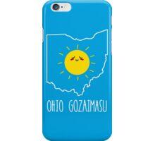 Ohio Gozaimasu iPhone Case/Skin