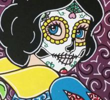 Sugar Skull Snow White 2 Sticker