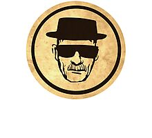 Breaking Bad Walter Coasters retro style image Photographic Print