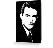 Gregory Peck Has Confidence Greeting Card