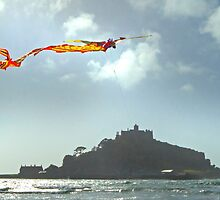St Michael's Dragon Kite by George Crawford
