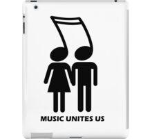 MUSIC UNITES US iPad Case/Skin