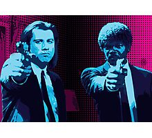 Vincent and Jules - Pulp Fiction (Variant 1 of 2) Photographic Print