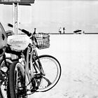Bicycles at the Beach by njordphoto