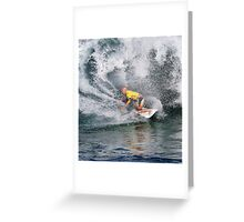 Kelly Slater.3 at 2010 Billabong Pipe Masters In Memory Of Andy Irons Greeting Card