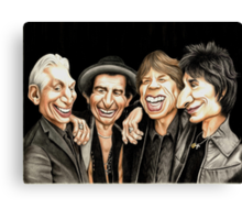 Old Rockers - Gimme Shelter t-shirt Canvas Print