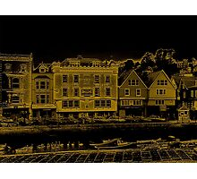 A Canal Street In Dartmouth Photographic Print