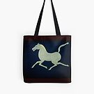 Chinese Horse Tote by Shulie1