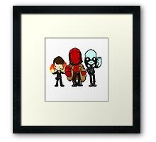 DIDN'T I KILL YOU ALREADY?! Framed Print