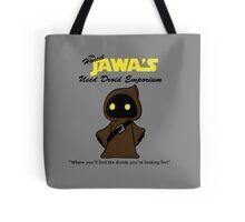 Honest Jawa's Used Droids Emporium Tote Bag