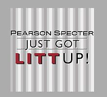 Pearson Specter Just Got LITT UP! by ShubhangiK