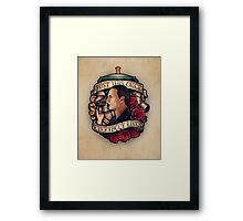 Just This Once Framed Print