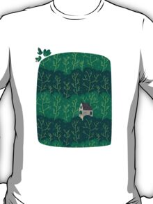 House in a forest. T-Shirt