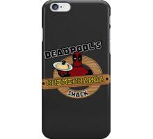Deadpool's Chimichanga shack iPhone Case/Skin
