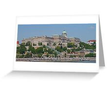 The Castle District from the Danube Greeting Card