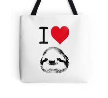 I Love Sloths Tote Bag