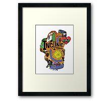 INCLINE VILLAGE Framed Print