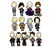 The Doctors 1-11 (plus war doc) Doctor Who by Bantambb