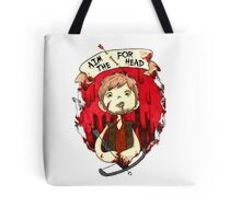 Aim for the Head Tote Bag