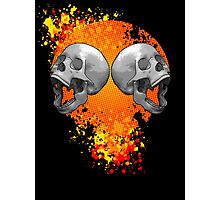screaming skulls Photographic Print