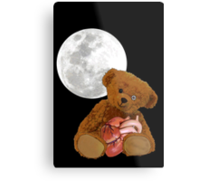 bear with a heart Metal Print