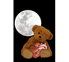 bear with a heart Photographic Print