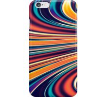 Color and Form Abstract - Solar Gravity and Magnetism 2 iPhone Case/Skin