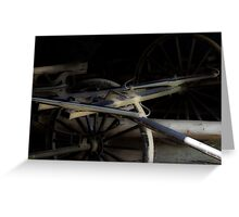 Buggy In Hiding Greeting Card