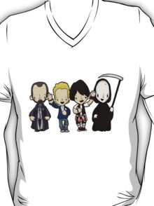 You might be a king or a little street sweeper, but sooner or later you dance with the reaper. T-Shirt