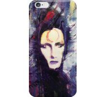 David Bowie Ziggy Stardust painting iPhone Case/Skin