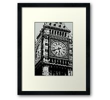 Big Ben Face - Palace of Westminster, London  Framed Print