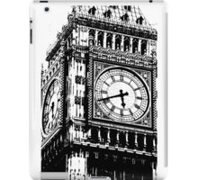Big Ben Face - Palace of Westminster, London  iPad Case/Skin