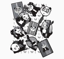 Panda Mix - Black Kids Clothes